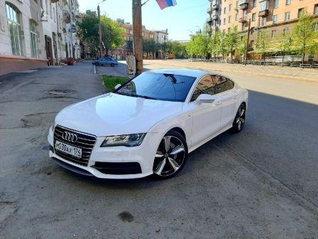 Audi A7 2011 - отзыв владельца