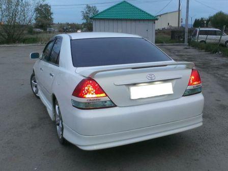 Toyota Mark II 2003 - отзыв владельца