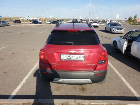 Chevrolet Tracker 2014 - отзыв владельца