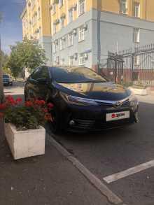 Москва Corolla 2016