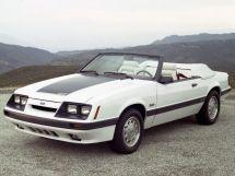 Ford Mustang рестайлинг 1982, открытый кузов, 3 поколение