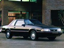 Ford Mustang 2-й рестайлинг 1986, купе, 3 поколение