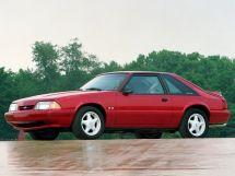 Ford Mustang 2-й рестайлинг 1986, хэтчбек 3 дв., 3 поколение