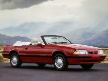 Ford Mustang 2-й рестайлинг 1986, открытый кузов, 3 поколение