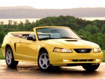 Ford Mustang рестайлинг 1998, открытый кузов, 4 поколение, SN-95