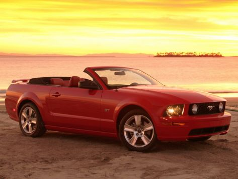 Ford Mustang (S-197) 09.2004 - 12.2008