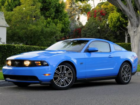 Ford Mustang (S-197) 01.2009 - 01.2012
