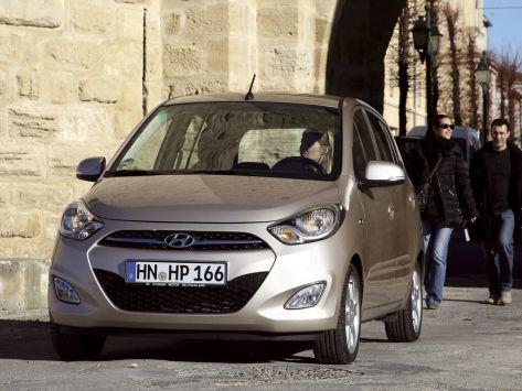 Hyundai i10 (PA) 09.2010 - 08.2013