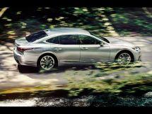 Lexus LS500 рестайлинг 2020, седан, 5 поколение