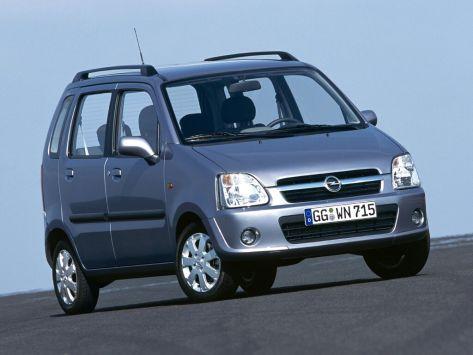 Opel Agila (A) 08.2003 - 07.2007