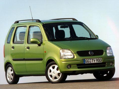 Opel Agila (A) 08.2000 - 07.2003