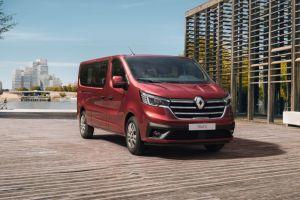 Renault представила рестайлинговый фургон Trafic