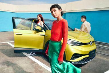 Volkswagen изменил дизайн электрического кроссовера ID.4 специально для Китая