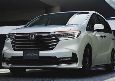 В Японии стартовали продажи рестайлинговой Honda Odyssey