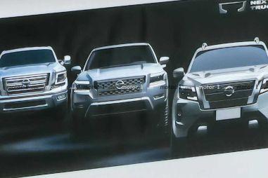 Новый Nissan Frontier для США и Канады случайно показали на презентации Навары