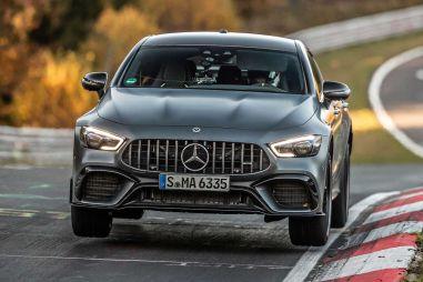 Mercedes-AMG GT 63 S вернул себе рекорд Нюрбургринга