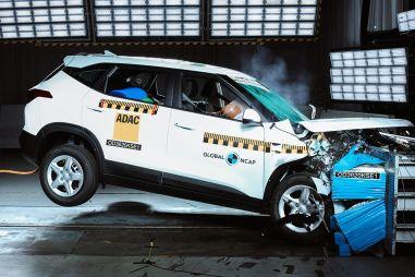 Kia Seltos показал невысокую безопасность в тесте Global NCAP