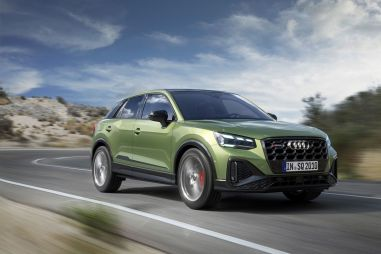 Audi представила рестайлинговую версию спорткроссовера SQ2