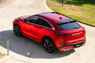 Infiniti вернулась в сегмент купе-кроссоверов с новой моделью QX55