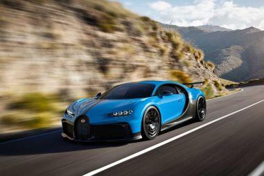 Опубликован реальный расход топлива Bugatti Chiron Pur Sport