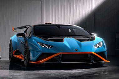 Lamborghini Huracan STO оказался в полтора раза дороже Huracan Evo, хотя потерял в мощности