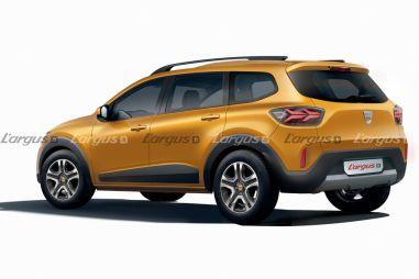 Renault Sandero превратят в семиместный кроссовер