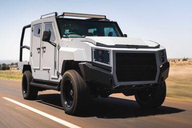 Компания из ЮАР выпускает броневики на базе Toyota Land Cruiser 79