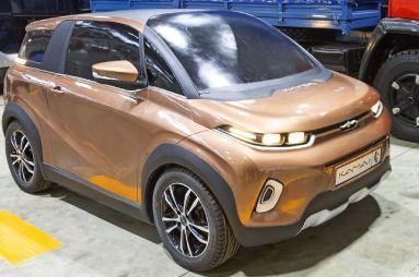 Легковой электромобиль КАМАЗ: опубликованы новые подробности