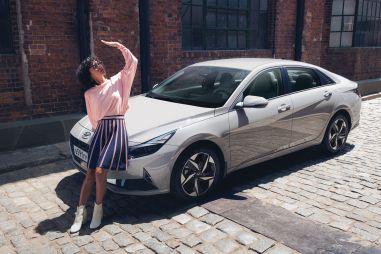 Hyundai анонсировала выход новой Элантры на российский рынок