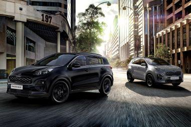 Kia представила специальный Sportage Black Edition: глянцевые элементы экстерьера, семь вариантов цвета кузова