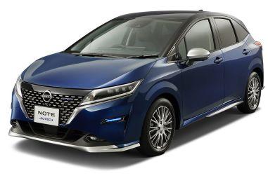 Новый Nissan Note Autech: легкий обвес кузова и доработанный салон