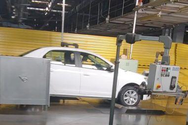 На АвтоВАЗе установили линию для контроля качества машин на новой платформе Renault