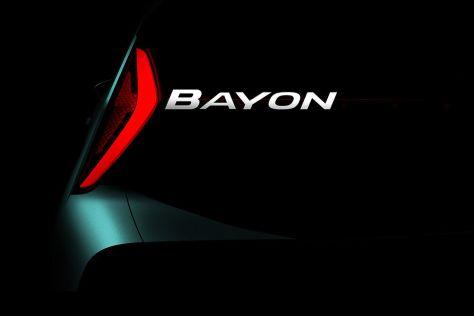 Hyundai анонсировала новый кроссовер B-класса
