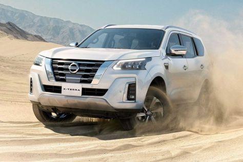 Nissan возродил имя X-Terra для 7-местного рамного внедорожника