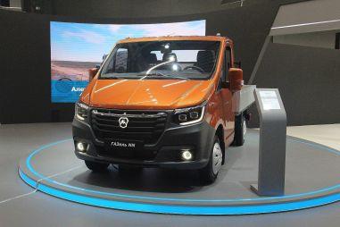ГАЗ запатентовал комбинацию приборов для ГАЗели следующего поколения