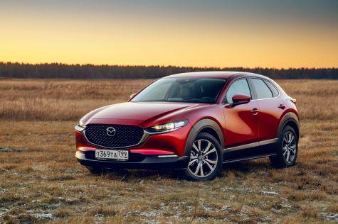 После новогодних праздников в России начнутся продажи кроссовера Mazda CX-30