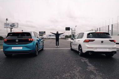Volkswagen ID.3 против Golf GTI: может ли новый электромобиль обогнать легендарный хот-хэтч?