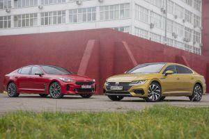 Kia Stinger против Volkswagen Arteon. Разница подходов