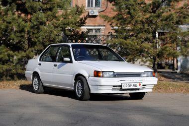 Народное ретро. Nissan Pulsar в кузове N13 1986 года. Все «созвездие» Пульсара