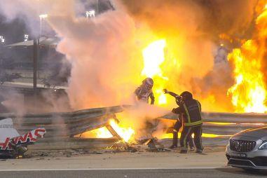 ГП Бахрейна: огненная авария Грожана, «уши» Лэнса Стролла, или Опять во всем виноват Квят?