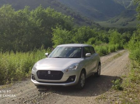 Suzuki Swift 2017 - отзыв владельца