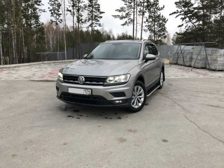 Volkswagen Tiguan 2017 - отзыв владельца
