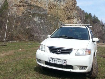 Mazda MPV 2000 - отзыв владельца
