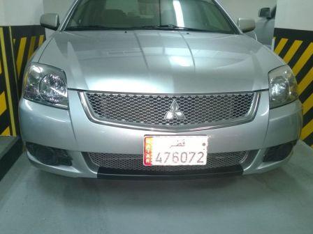 Mitsubishi Galant 2012 - отзыв владельца