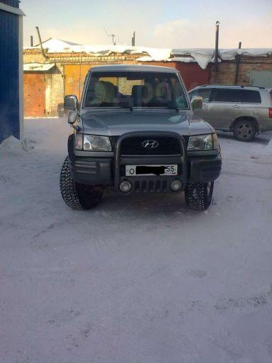 Hyundai Galloper, 2002