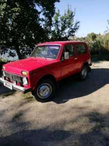 Кущевская 4x4 2121 Нива 1980