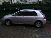 Сочи Corolla Runx 2002