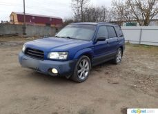 Шуя Forester 2002