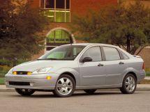 Ford Focus 1 поколение, 09.1999 - 07.2004, Седан