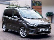 Ford Tourneo Courier рестайлинг 2018, минивэн, 1 поколение